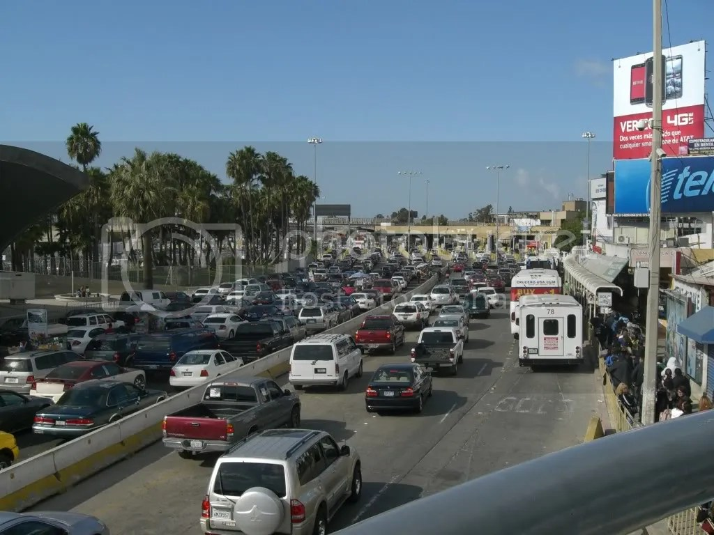 Border Crossing Tijuana to San Diego