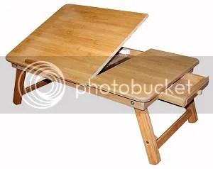 bamboo folding desk