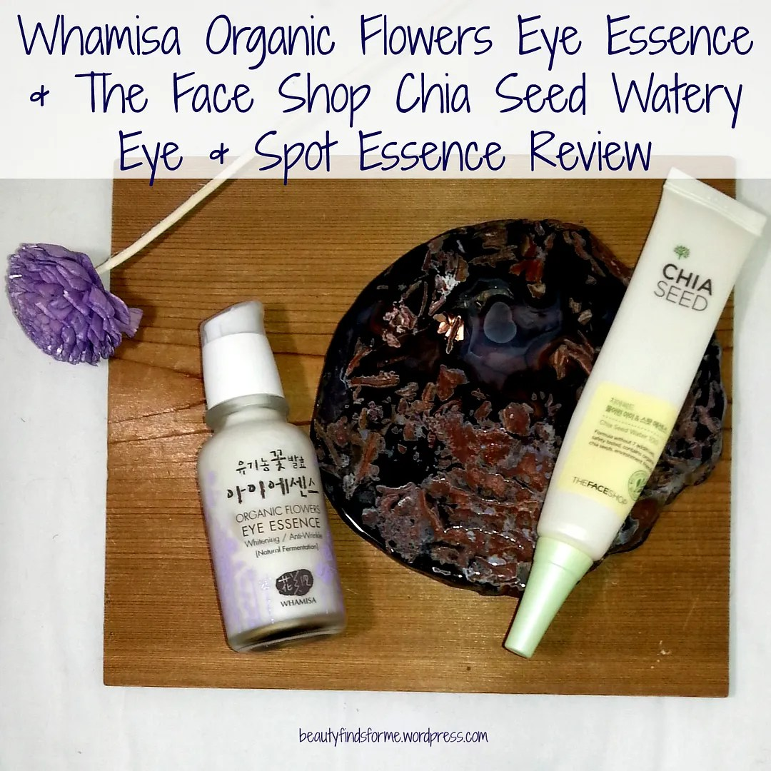 A tale of two essences whamisa and the face shop unboxing beauty all products purchased by me blog post contains affiliate links izmirmasajfo