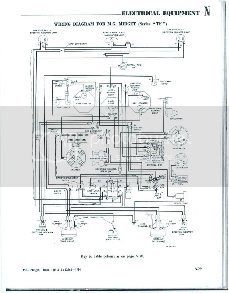 1973 mg mgb wiring diagram