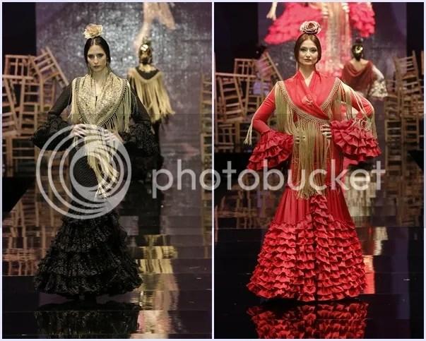 Del café al tablao Pilar Vera Simof 2016 moda flamenca beitavg