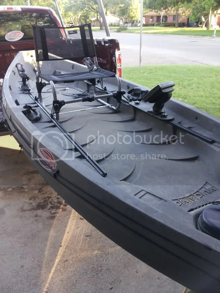 larry chair kayak antique morris styles seating option for nucanoe frontier updated fishing texas forum