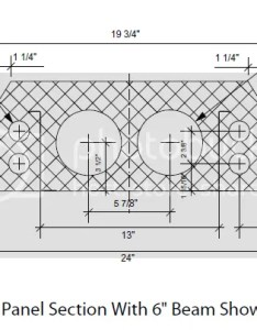 Arkie here are the dimensions of  quad deck insuldeck cross section height does not affect chase sizes hope this helps also questions greenbuildingtalk green rh