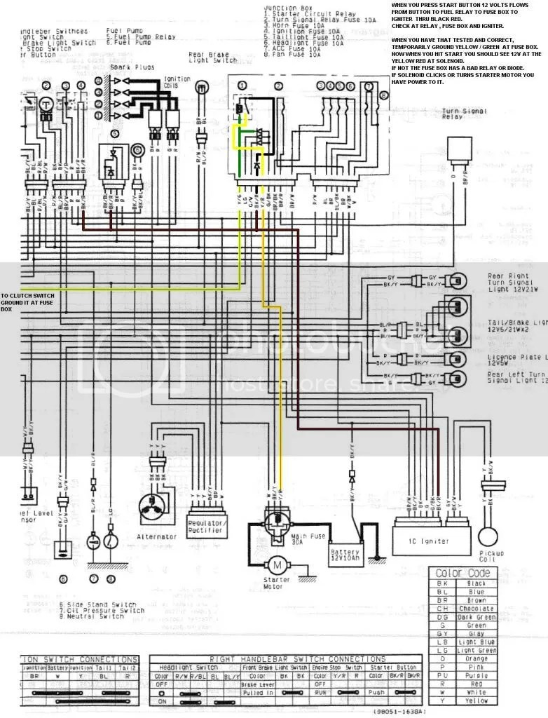 Kawasaki Eliminator 250 Wiring Diagram Triton Trailer