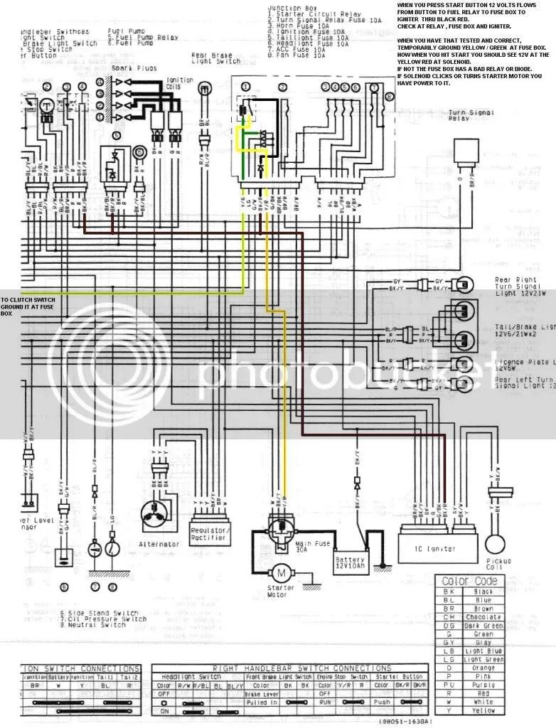 Superb Zx6R Wiring Diagram 2007 Basic Electronics Wiring Diagram Wiring 101 Ferenstreekradiomeanderfmnl