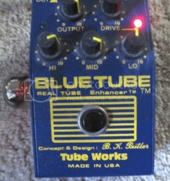 i also have another blue tube pedal tube works and a bk butler real tube with an 8414a military grade 12au7 and that sounds incredible  [ 768 x 1024 Pixel ]