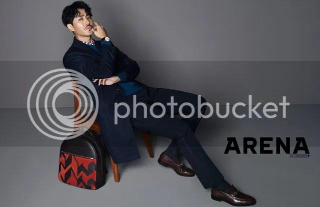 Cha Seung Won para Arena Homme Corea, octubre de 2016. 1