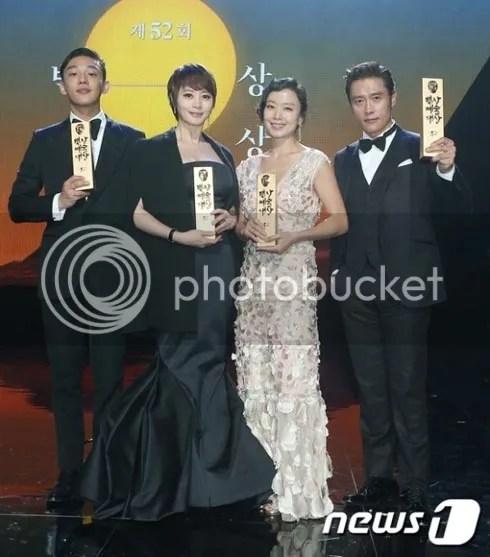 Ganadores de los Baeksang 2016