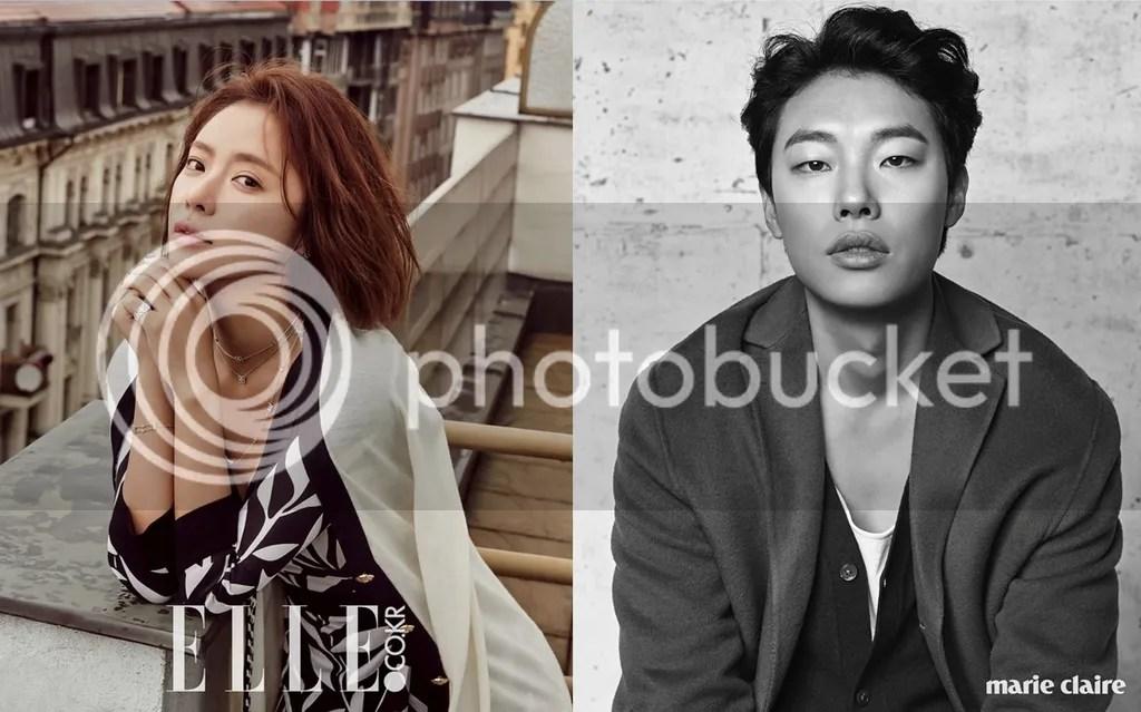 Hwang Jung Eum y Ryu Jun Yeol