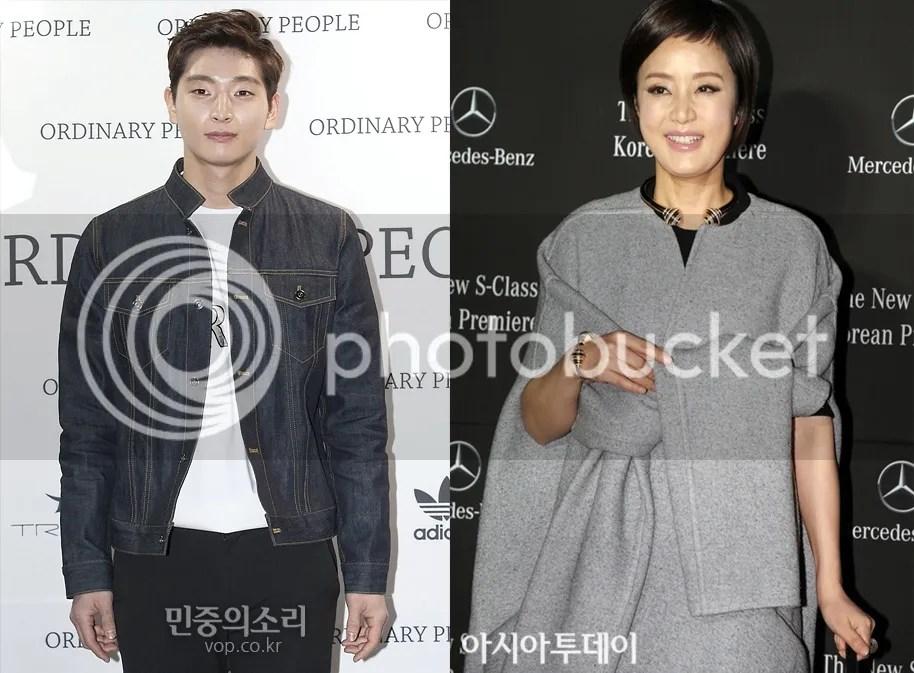 Jinwoon y Jang Mi Hee