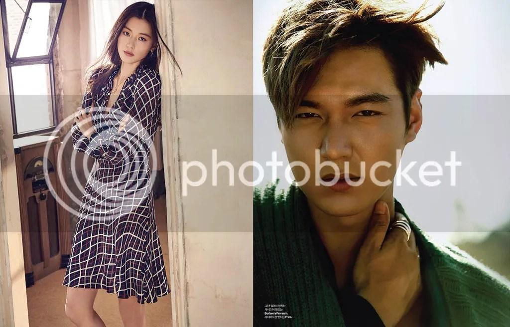 Jun Ji Hyun y Lee Min Ho