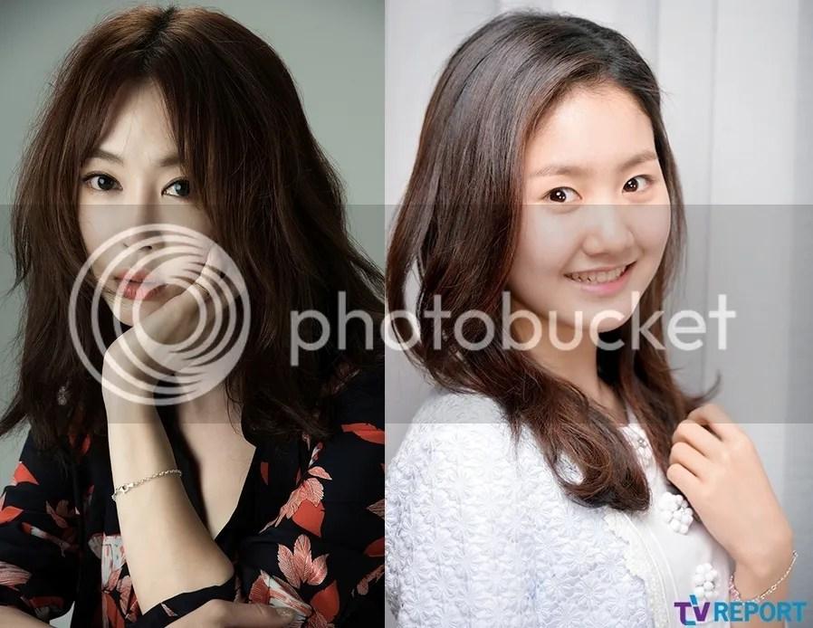 Kang Ye Won y Jin Ji Hee 1