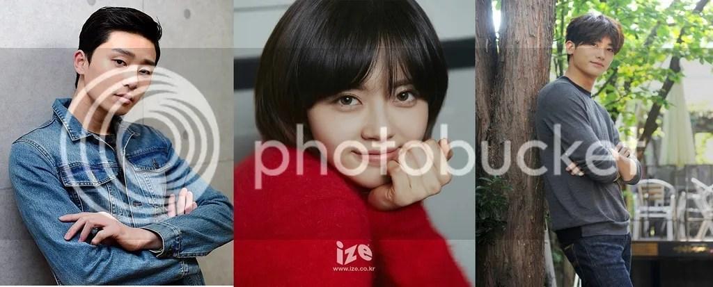 Park Seo Joon, Go Ara y Park Hyungsik