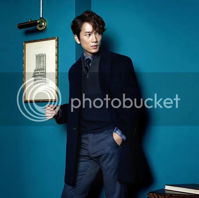 Ji Sung para Austin Reed, otoño-invierno 2015 (10) Bomba Soju
