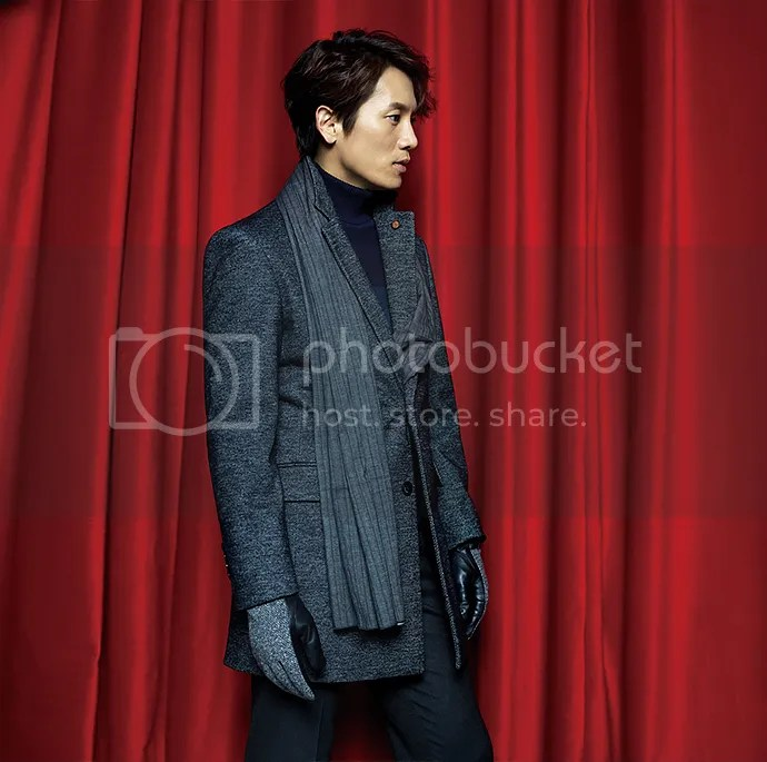 Ji Sung para Austin Reed, otoño-invierno 2015 (12) Bomba Soju