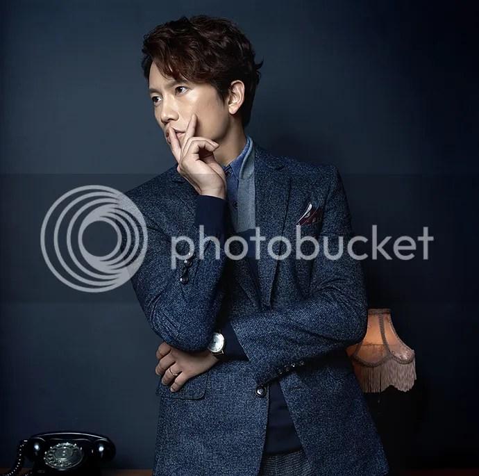 Ji Sung para Austin Reed, otoño-invierno 2015 (3) Bomba Soju