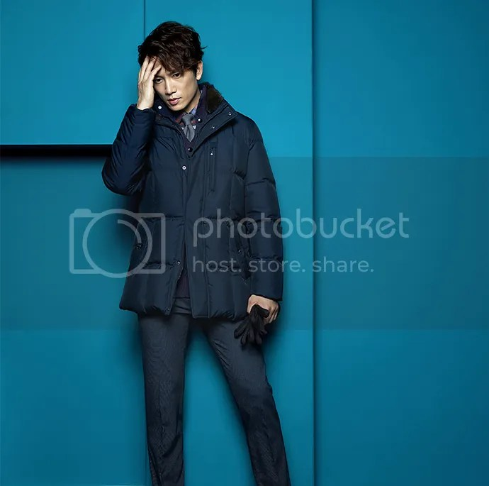 Ji Sung para Austin Reed, otoño-invierno 2015 (6) Bomba Soju