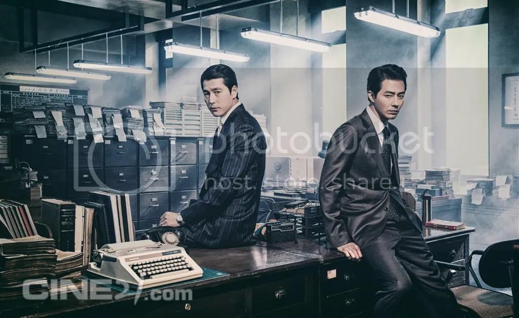 Jung Woo Sung y Jo In Sung para Cine21. 3
