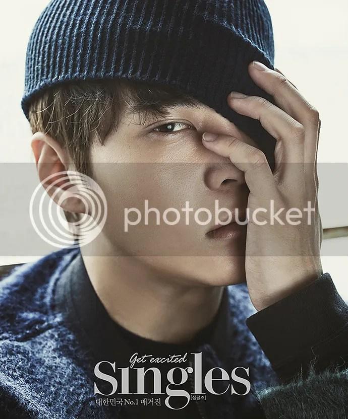 Joo Won para Singles Corea, noviembre de 2015. 1