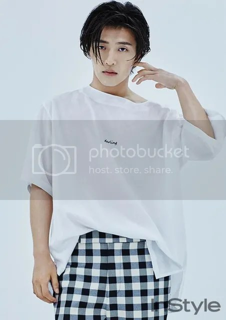 Kang Haneul para InStyle julio de 2016. 3