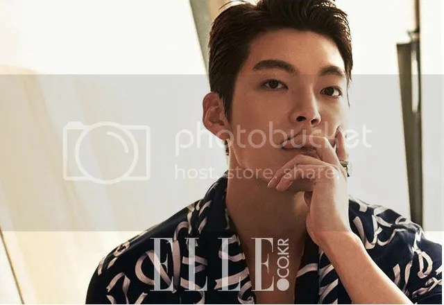Kim Woo Bin para Elle Corea, agosto de 2016. 2