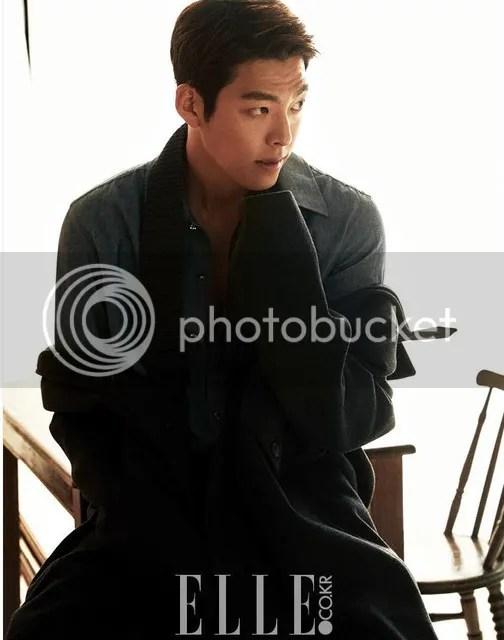 Kim Woo Bin para Elle Corea, agosto de 2016. 3