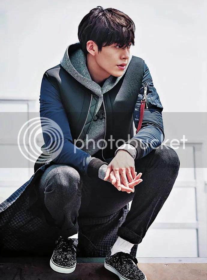 Kim Woo Bin 4 para SIEG, otoño/invierno 2015-2016