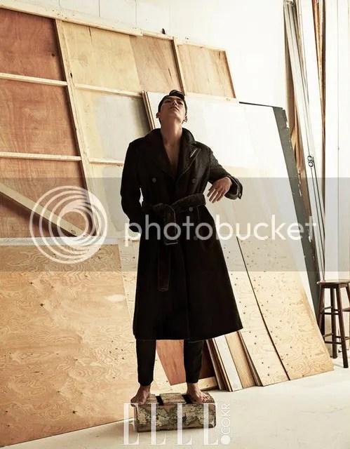 Kim Woo Bin para Elle Corea, agosto de 2016. 4