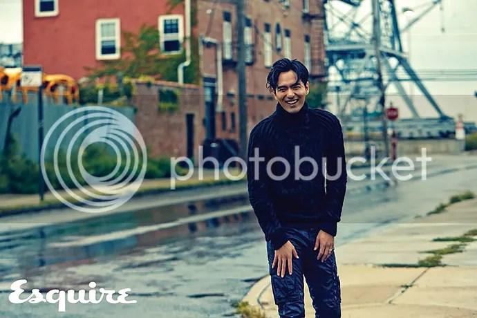 Lee Jin Wook para Esquire. 3