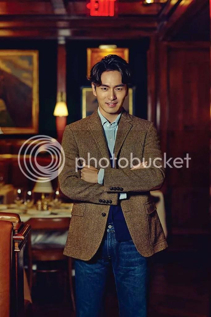 Lee Jin Wook para Esquire Corea. 6