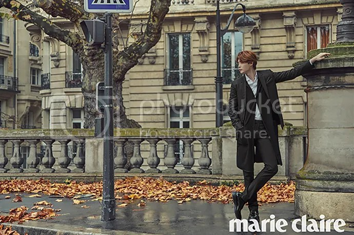 Lee Jong Suk para Marie Claire Corea, noviembre de 2015. 7