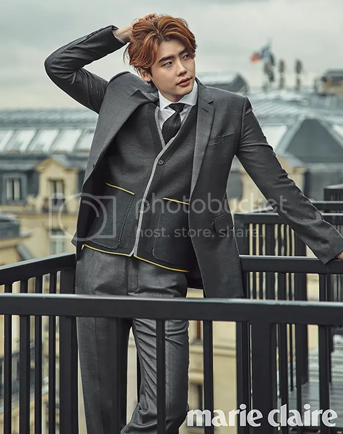 Lee Jong Suk para Marie Claire Corea, noviembre del 2015. 8