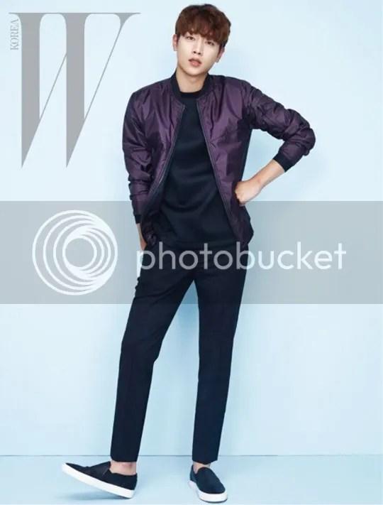 Seo Kang Joon para W Corea, abril 2016. 12