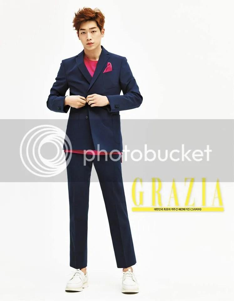 Seo Kang Joon para Grazia Corea, marzo de 2016. 5