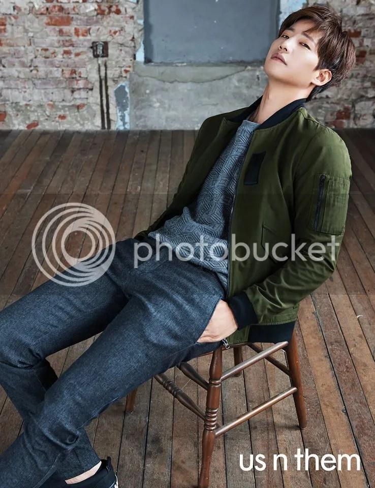 Song Jae Rim para us n them, otoño 2015. Bomba Soju (3)