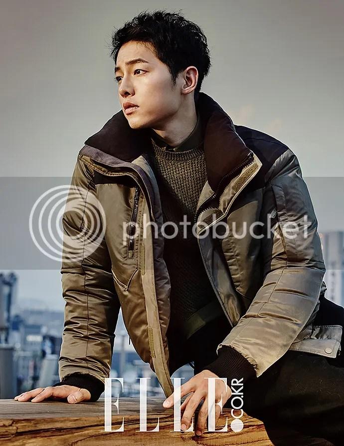 Song Joong Ki para ELLE. 10