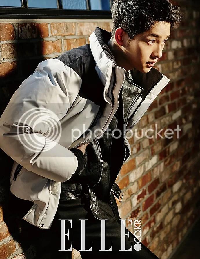Song Joong Ki para ELLE. 11