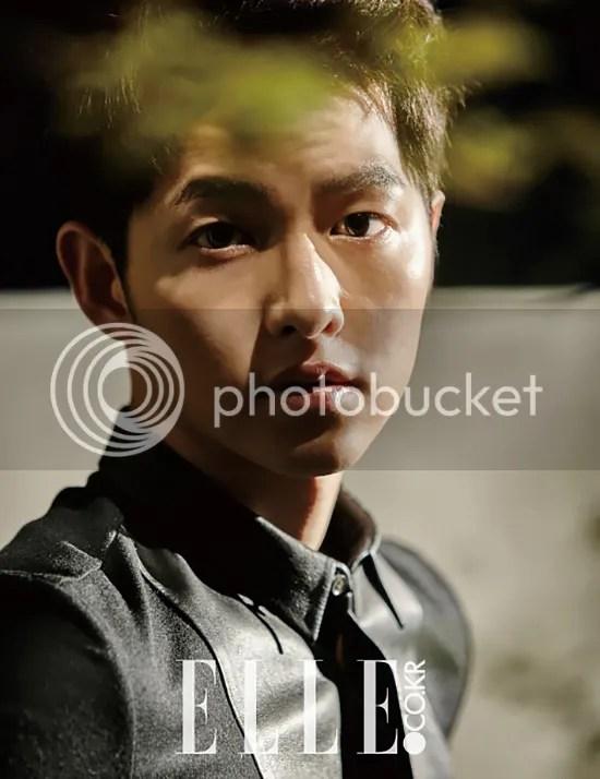Song Joong Ki para ELLE. 3