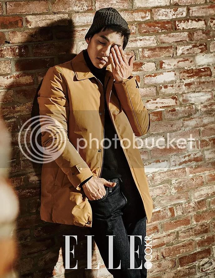 Song Joong Ki para ELLE. 5