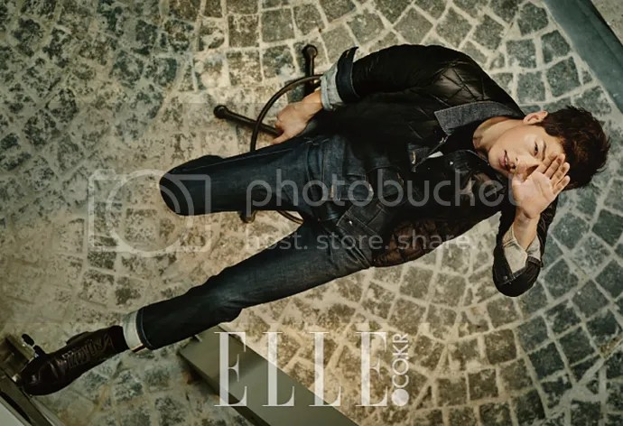 Song Joong Ki para ELLE. 6