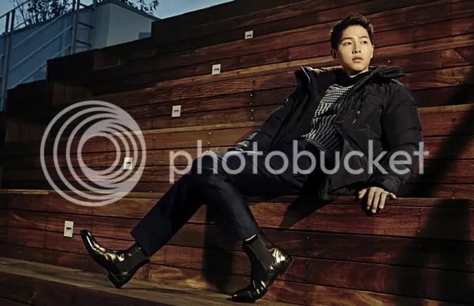 Song Joong Ki para ELLE. 8