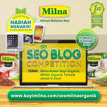 Banner Milna SEO Blog Competition