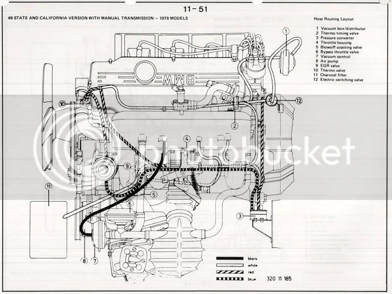 320i vacuum lines