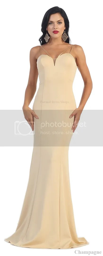 New Simple Yet Gorgeous Prom Dance Evening Dress