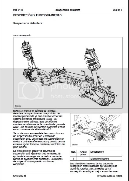 Manual de taller Ford Fiesta 2002