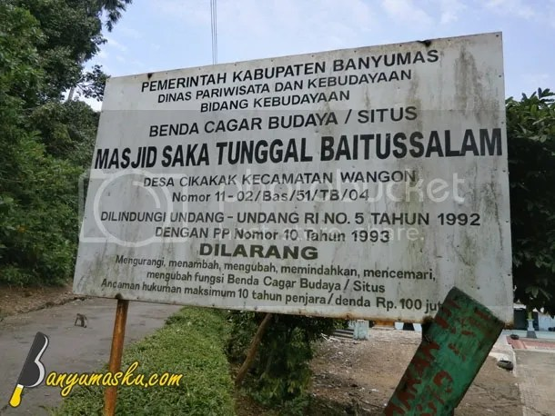Petunjuk Masjid Saka Tunggal