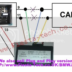 Bmw E60 Ccc Wiring Diagram 6 Pin Trailer With Brakes Cic Great Installation Of Emulator Rh E90post Com Head Unit