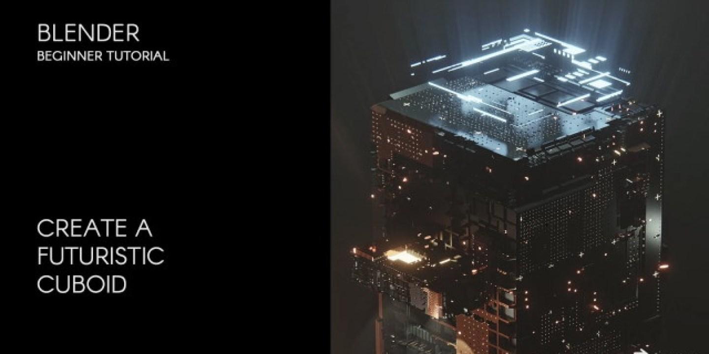 [Skillshare / Rany Bechara] Animate a 3D futuristic cuboid in Blender 2.92