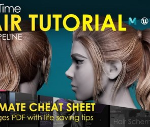 FlippedNorma Real-Time Hair Tutorial