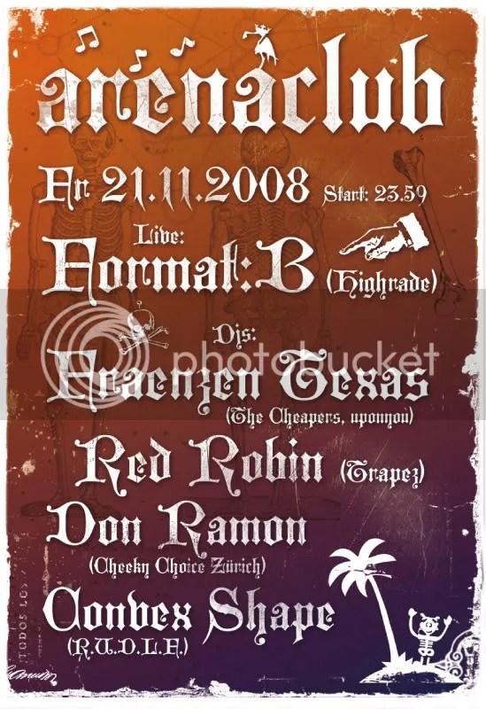 Arena flyer 21.11.08